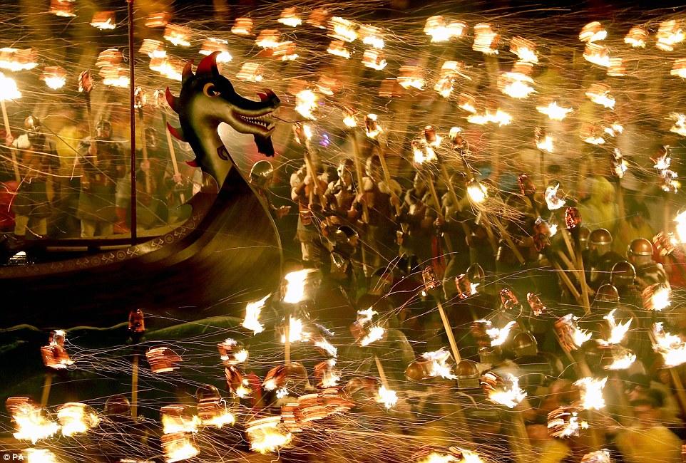 1000 викингов высадилось в Шотландии