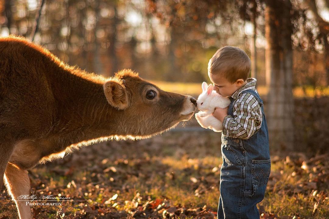 Фотограф-самоучка делает очаровательные снимки своих детей