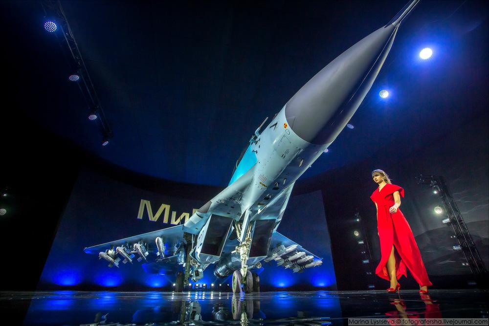 Презентация нового истребителя МиГ-35