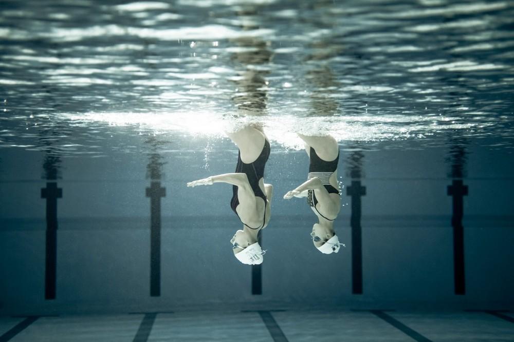 Красота синхронного плавания