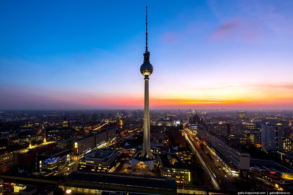 Берлин с высоты: старая-новая столица Германии