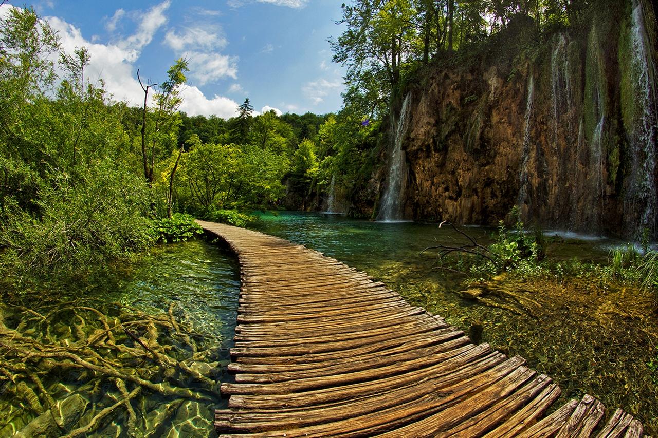 Плитвицкие озера — природный парк Европы