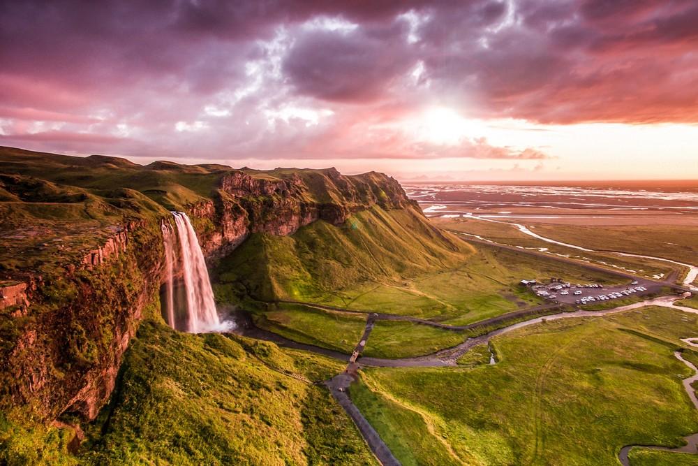 Притягивающие виды природы Исландии