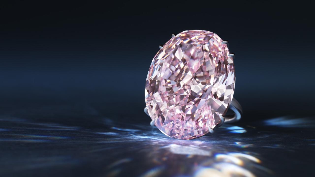 «Розовая звезда» — бриллиант за $60 миллионов