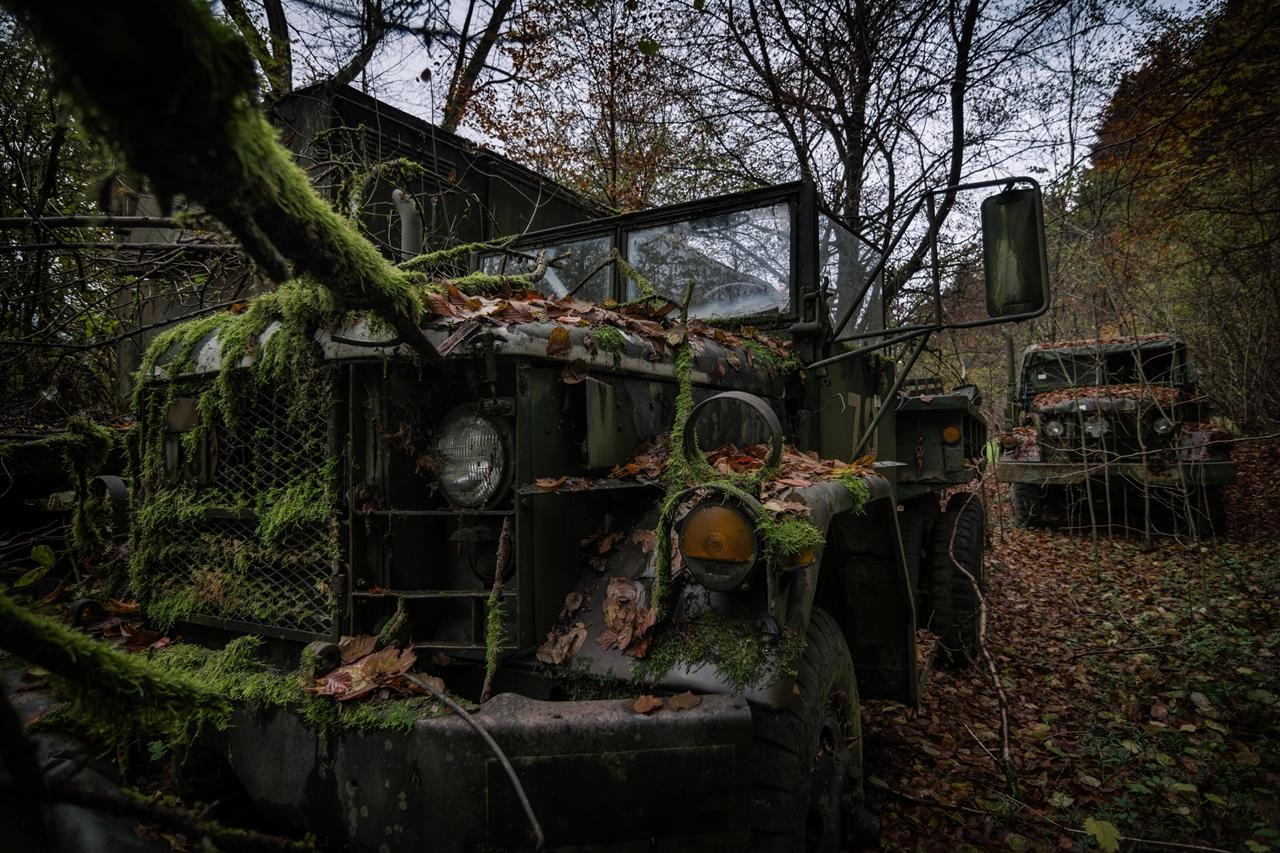 Мир заброшенных машин
