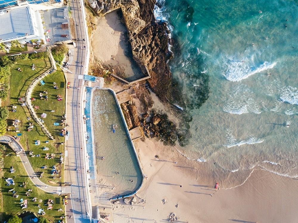 Аэрофотоснимки австралийского пляжа Бонди