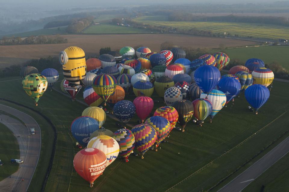 Воздушные шары над Ла-Маншем