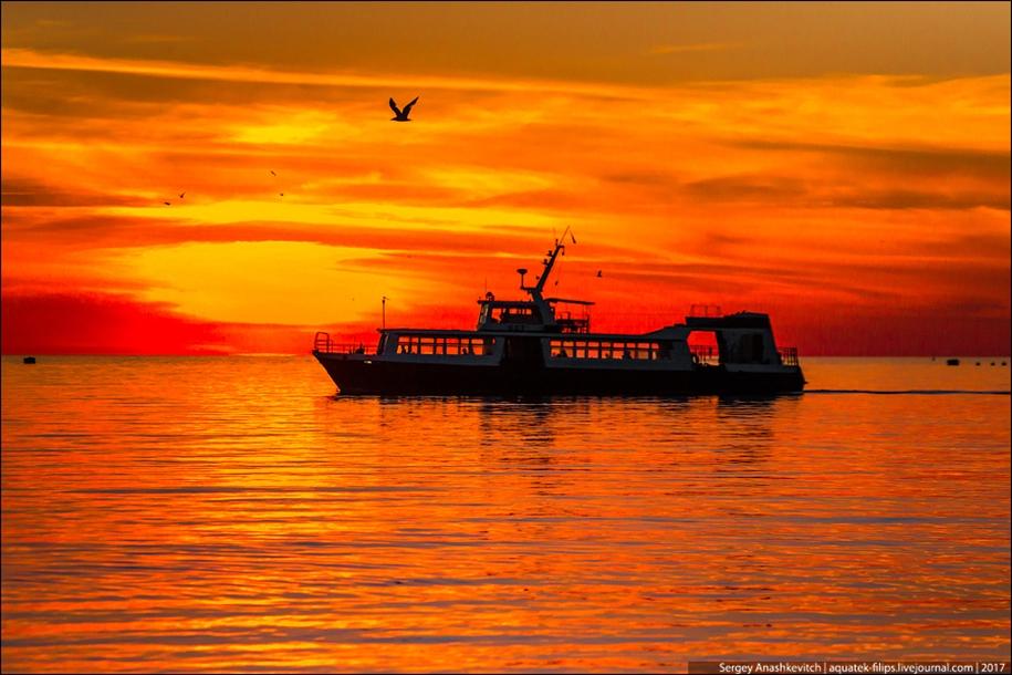 Фееричные закаты Крыма