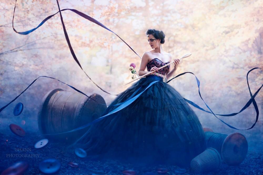 Сказочные фотопортреты Isabelle Hanneuse