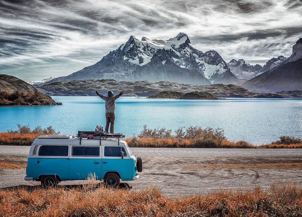 Восхитительные фото людей, путешествующих на фургонах