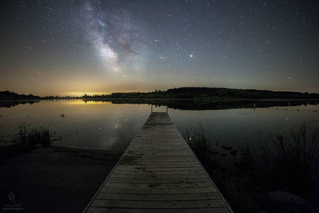 Потрясающие астрофотографии и пейзажи Аарона Джей Гроэна