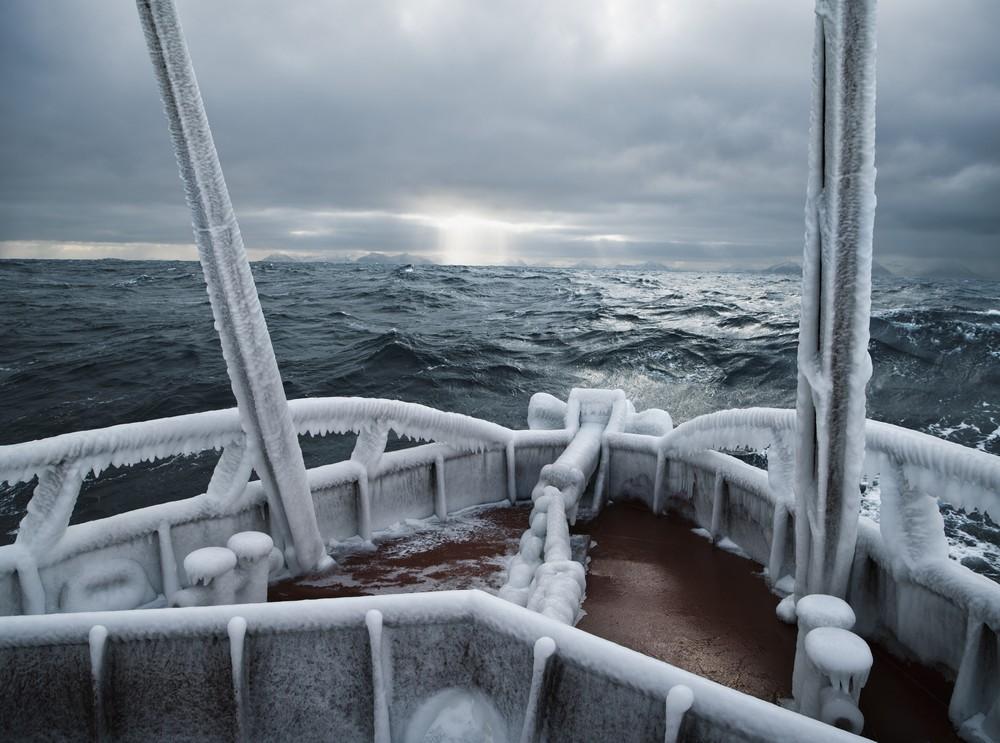 Суровые будни рыбаков Аляски