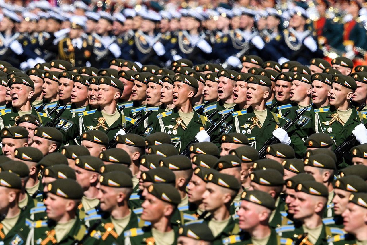 Парад Победы 2017 на Красной площади