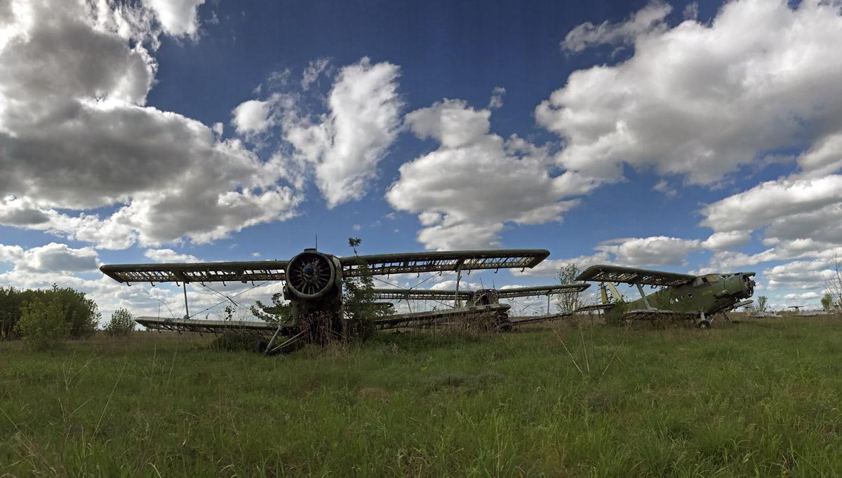 Заброшенный аэродром: так угасают легенды