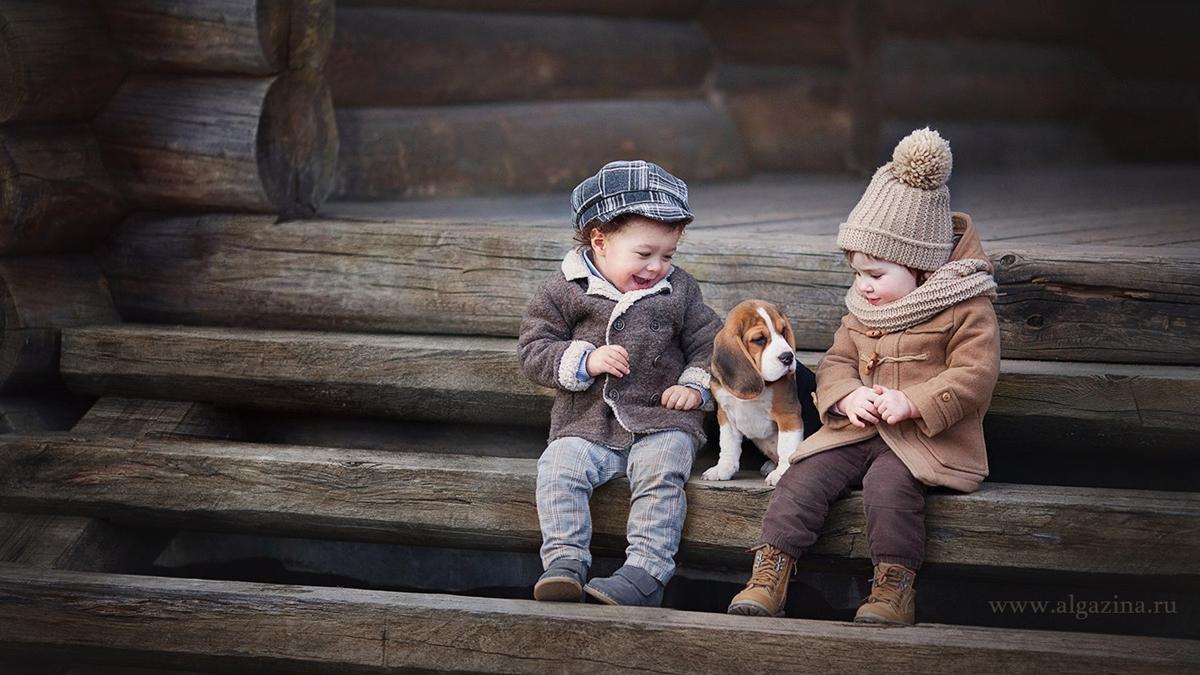 Очаровательные фотографии детей Елены Алгазиной