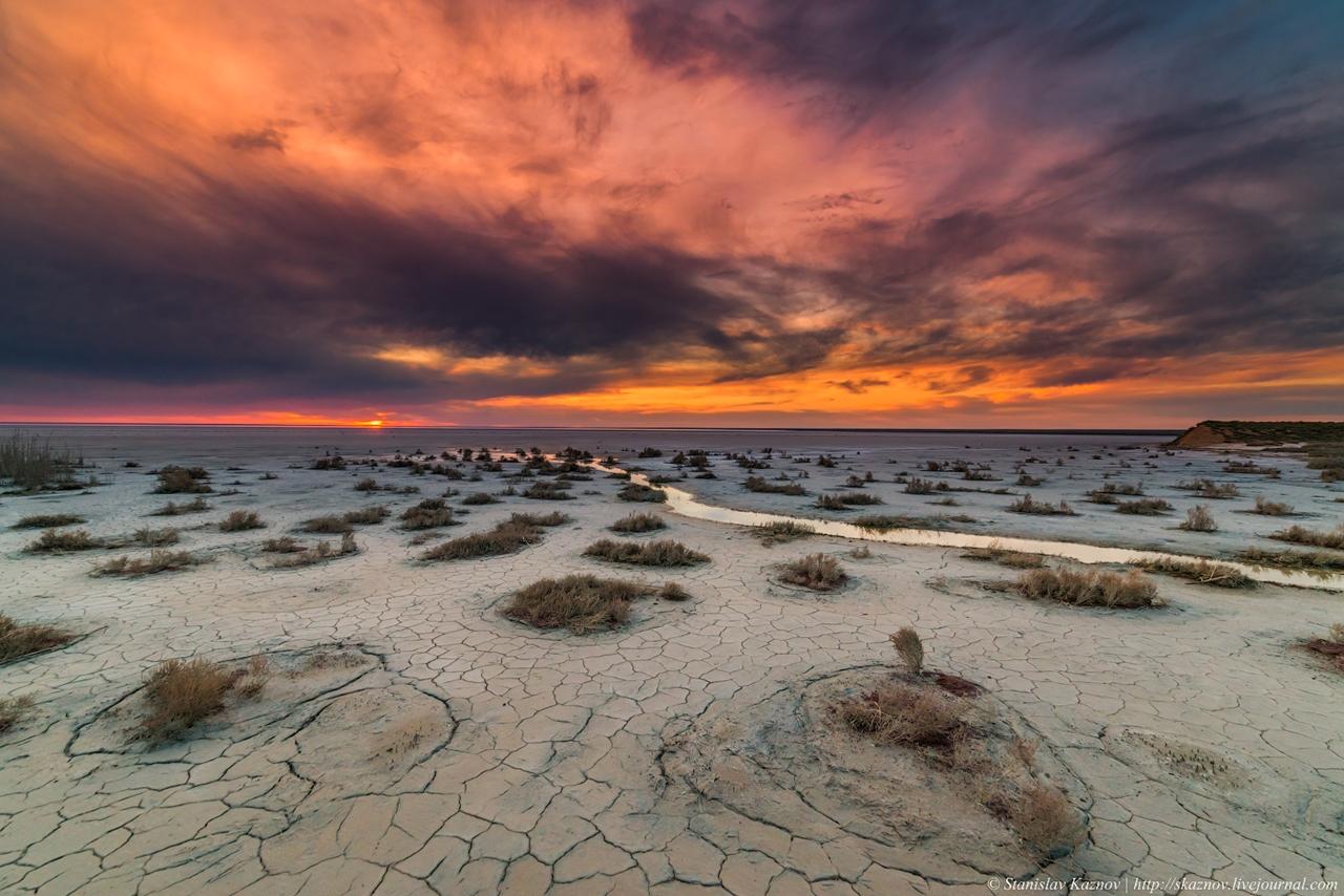 Озеро Эльтон: пейзажи с Марса