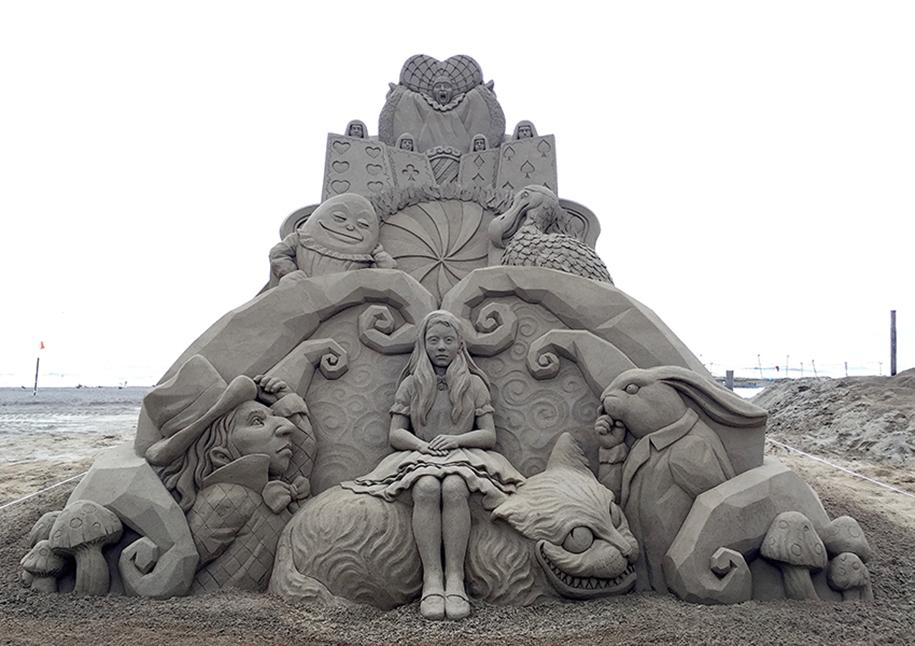 Потрясающие скульптуры из песка Тошихико Хосаки