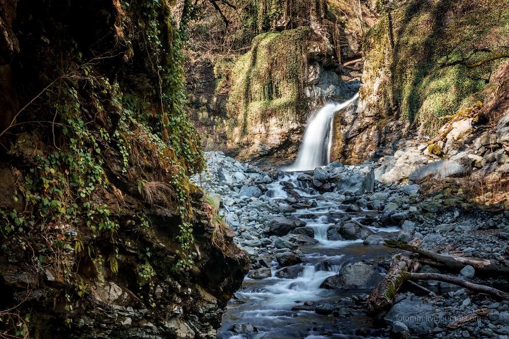Весенняя Грузия: водопад Шромисхеви