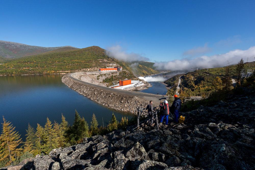 РусГидро.  Колымская ГЭС
