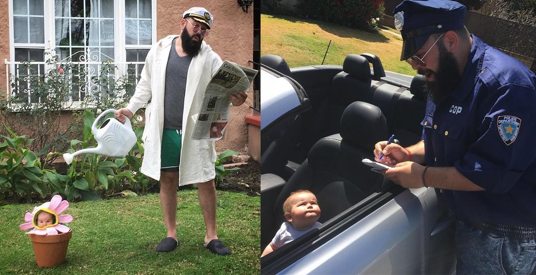 Веселые фотографии папы с маленькой дочерью