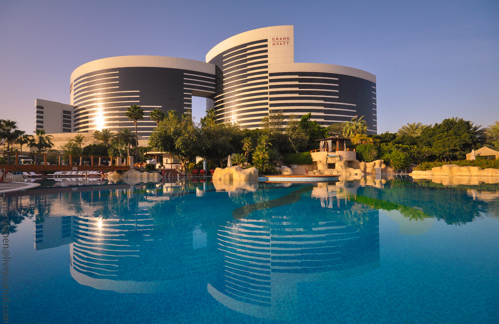 Отель Grand Hyatt Dubai: джунгли посреди пустыни