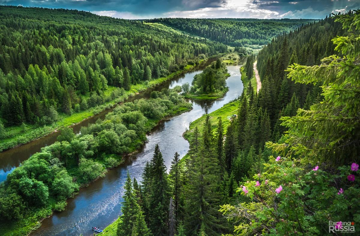 Природа Пермского края в красивых снимках