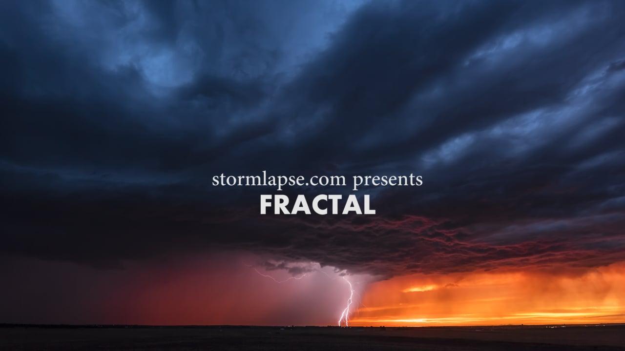 Таймлапс «Фрактал»: ярость, красота и великолепие гроз в восхитительном видео