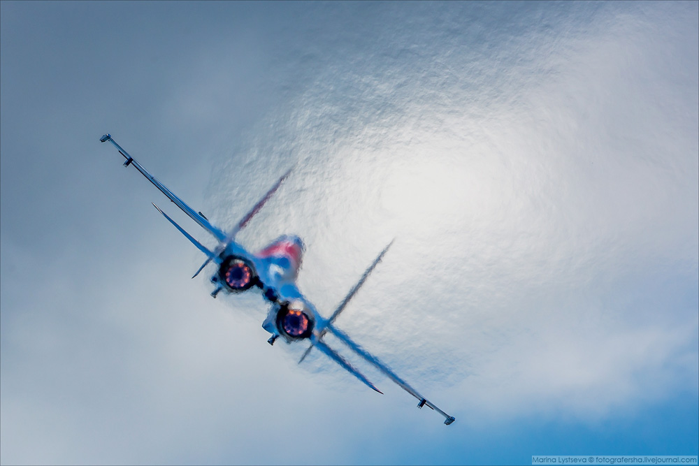 «Русские витязи» на МАКС 2017