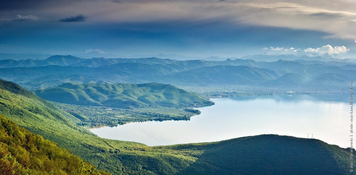Красивейшие места озера Охрид