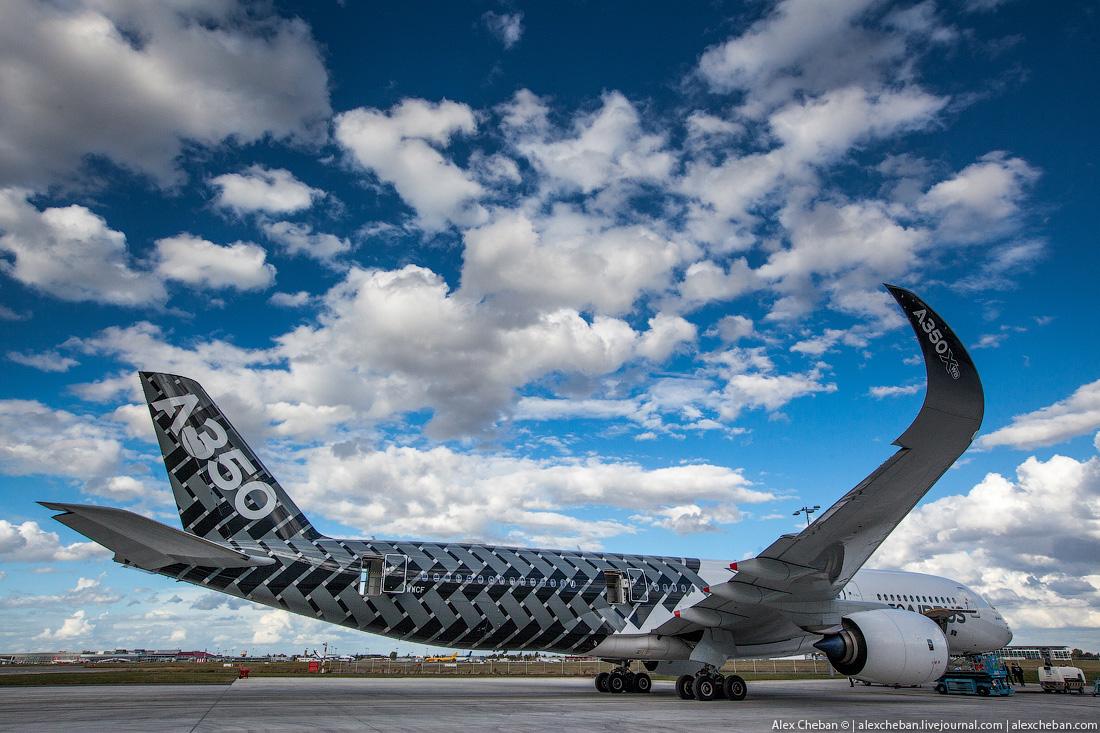 Самый стильный и современный AIRBUS A350