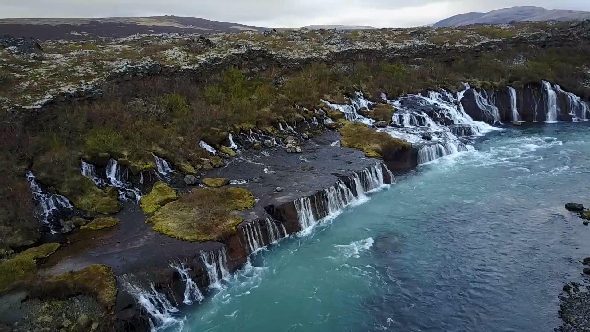 Полет над Исландией