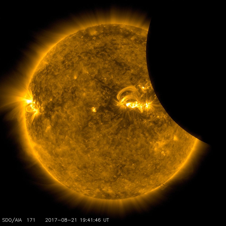 Великое солнечное затмение или как США погрузились во мрак