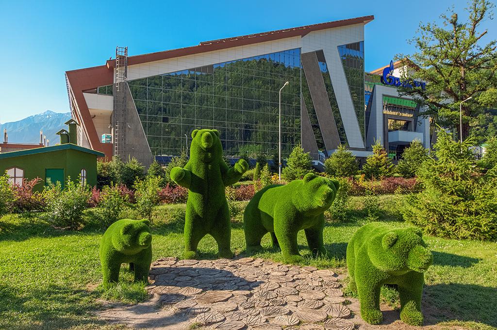 Сочинский парк «Зеленая Планета»: фантастический мир в горах