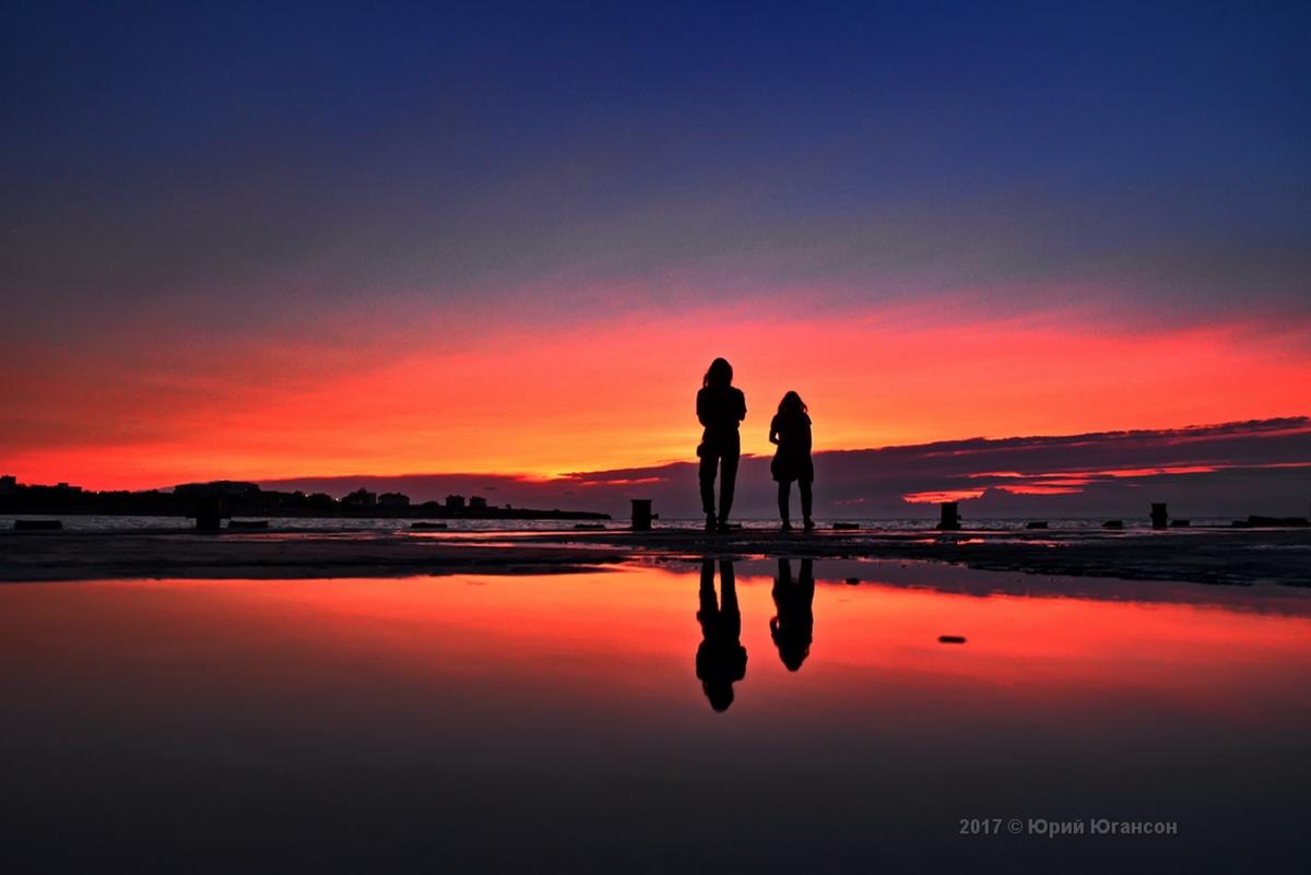 Закат над Омегой