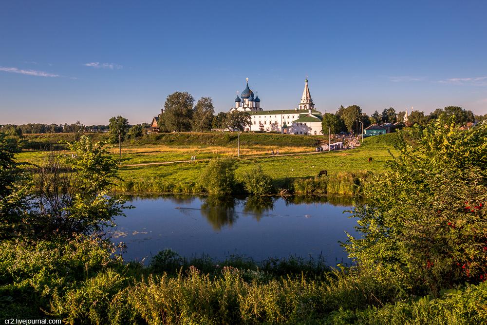 Суздаль — город множества церквей