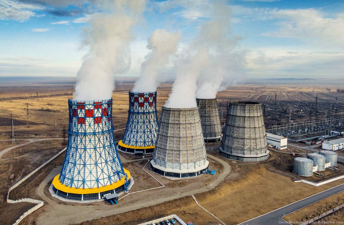 Абаканская ТЭЦ — самая большая в Хакасии
