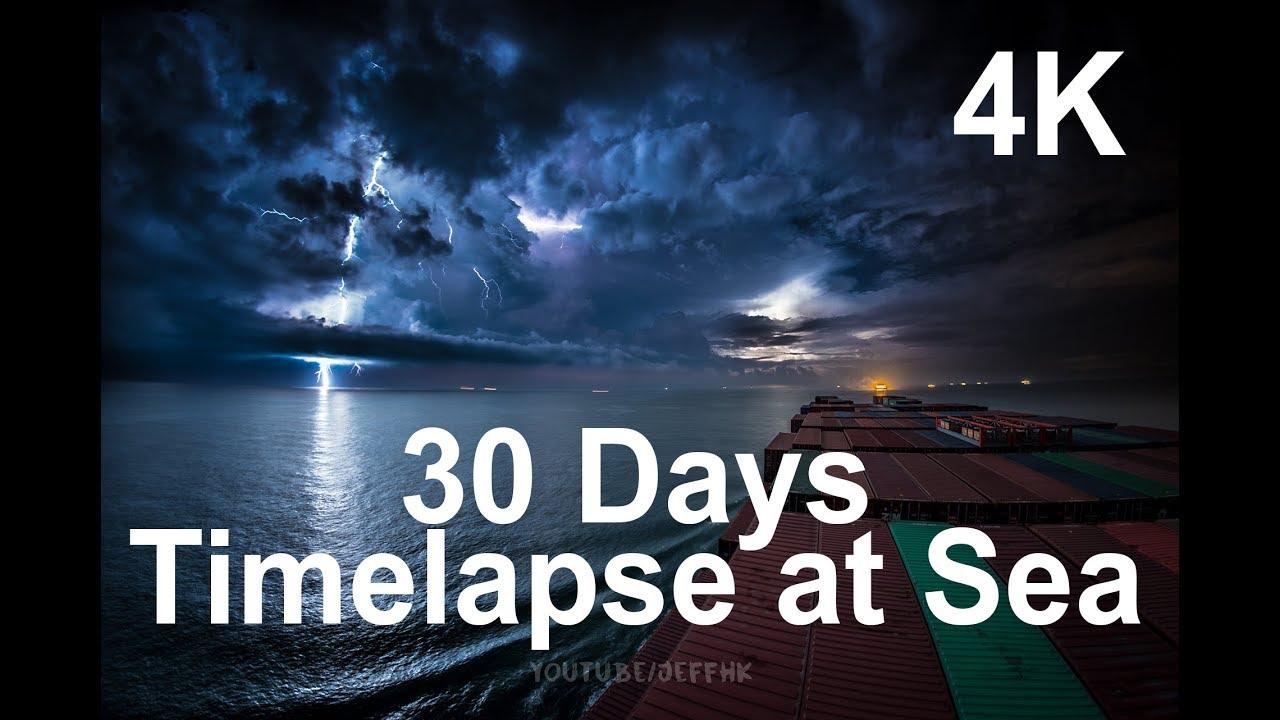 Увлекательное видеопутешествие — 30 дней в море за 10 минут