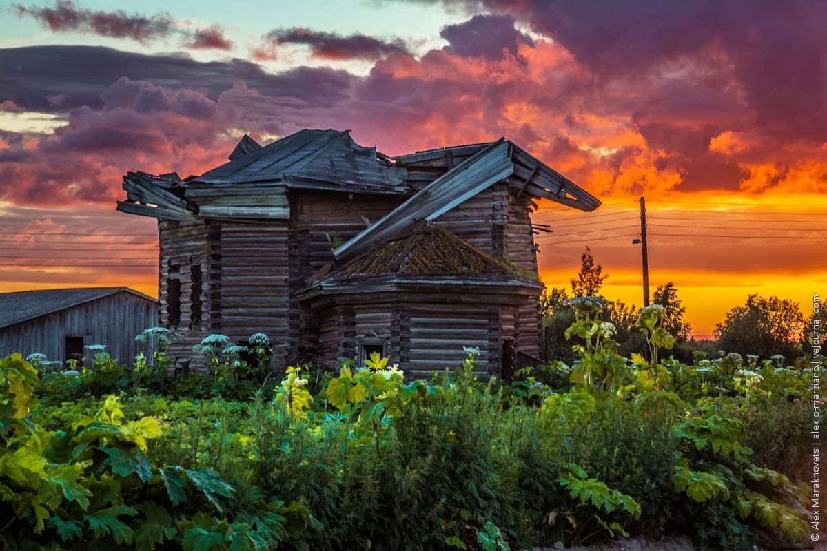 Северные закаты неимоверной красоты