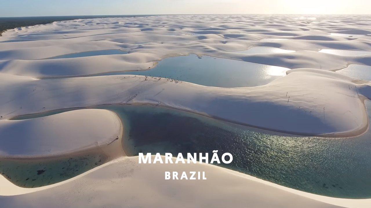 Лагуны среди дюн: уникальные пустынные оазисы Бразилии