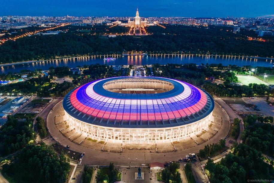 Лужники — самый большой стадион страны