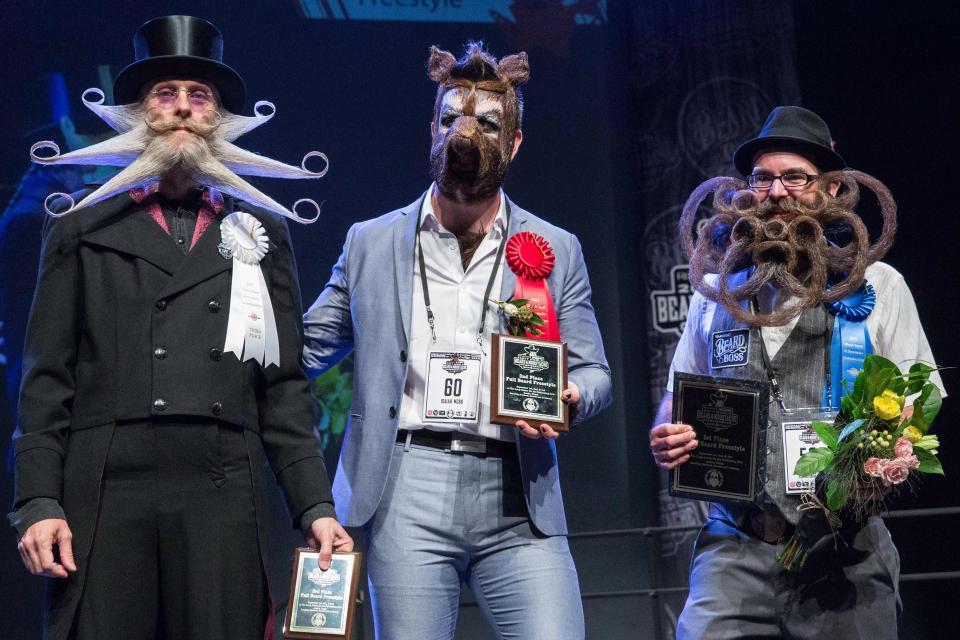 Ежегодный чемпионат мира бородачей и усачей