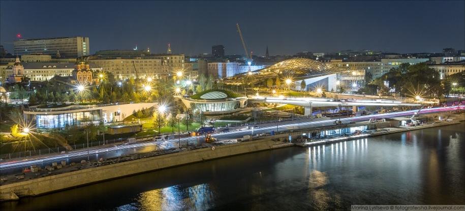 Открытие московского парка «Зарядье»