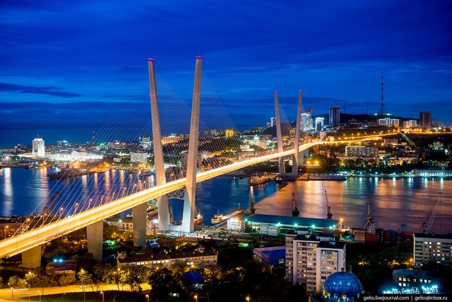 Владивосток — город на краю России