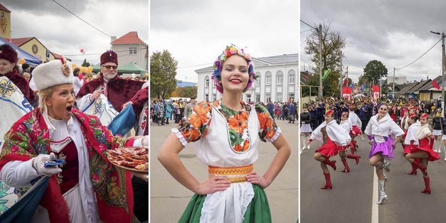 Фестиваль-ярмарка «Дожинки 2017» в Смолевичах
