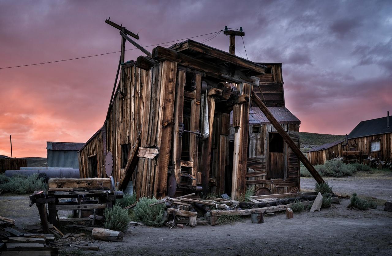 Заброшенный город в Калифорнии