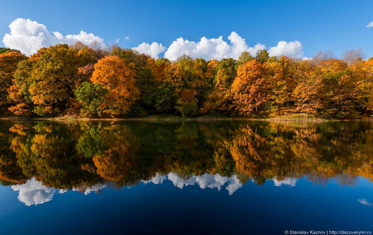 Золотая осень в Нижнем Новгороде