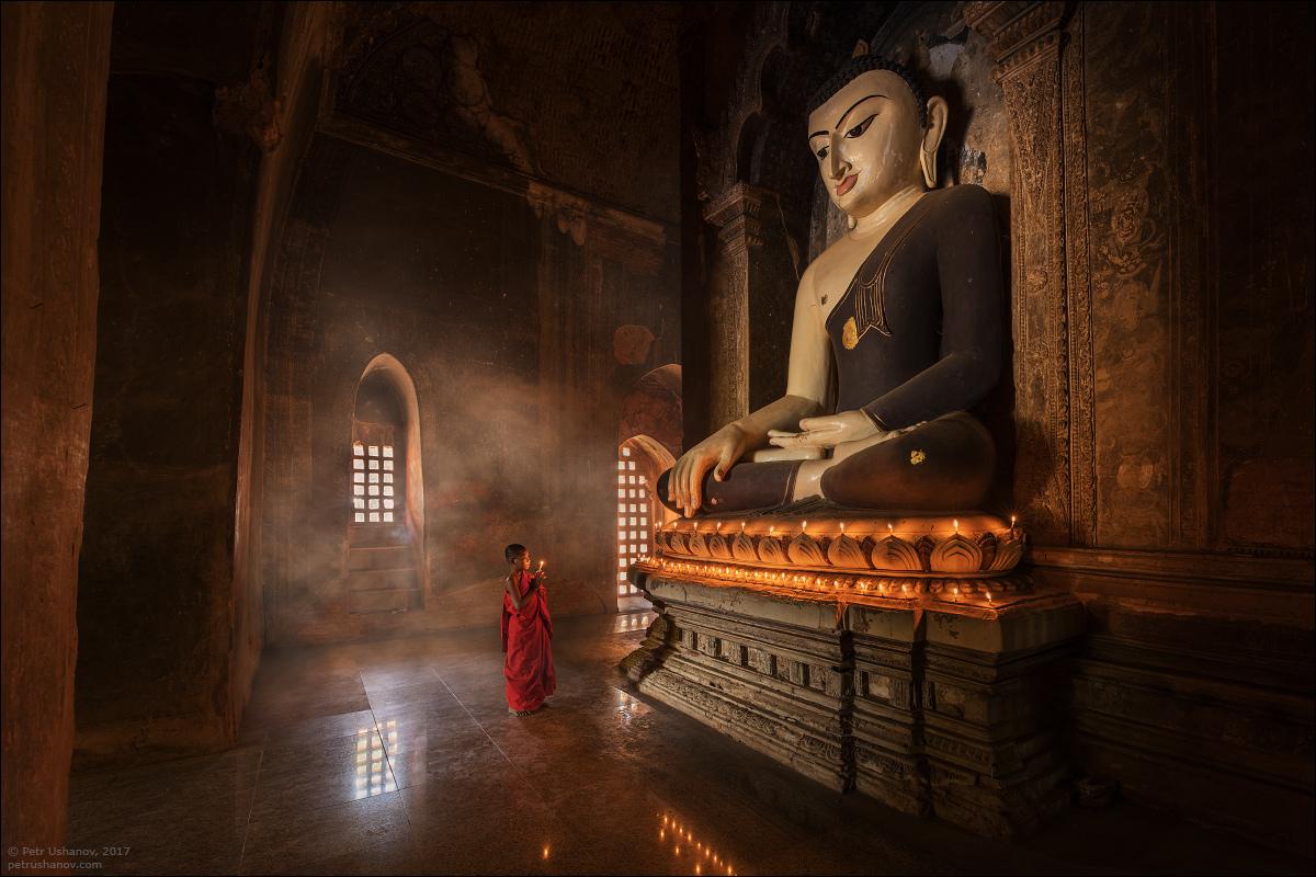 Мьянма и жизнь монахов в храмах Багана