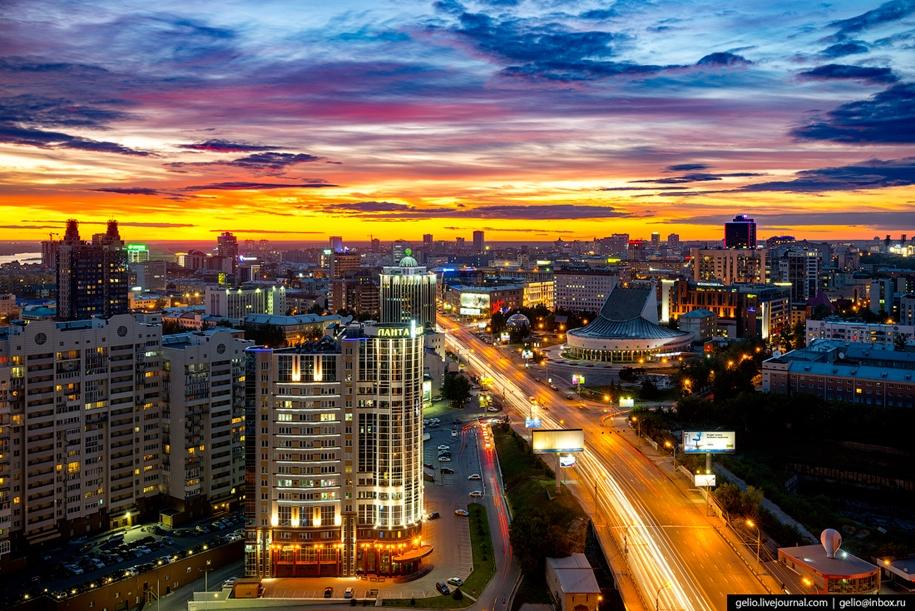 Новосибирск летом 2017