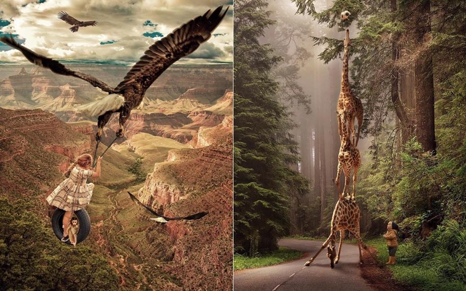 Сказочный мир в фотоработах Марселя ван Льюита