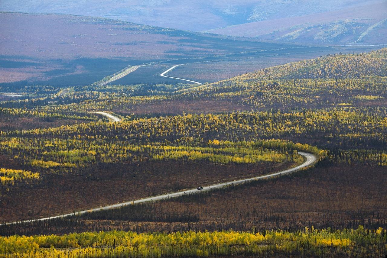 Шоссе Далтон — самая северная дорога Америки